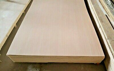 5.5mm HARDWOOD FACED PLYBOARD 1220mm x 2440mm sheets (4ft x 8ft)