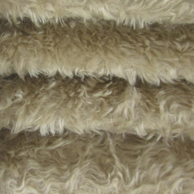 "1/4 yd 340H Dove INTERCAL 5/8"" Med. Dense Heirloom Finish German Mohair Fabric"