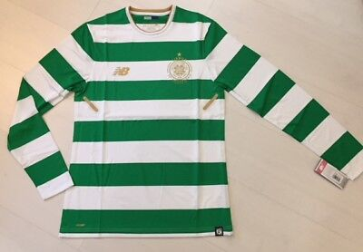 NB Celtic Football Club ELITE home shirt TIGHT FIT Player Issue No Sponsor L/S