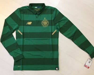 NB Celtic Football Club ELITE Away shirt TIGHT FIT Player Issue No Sponsor L/S