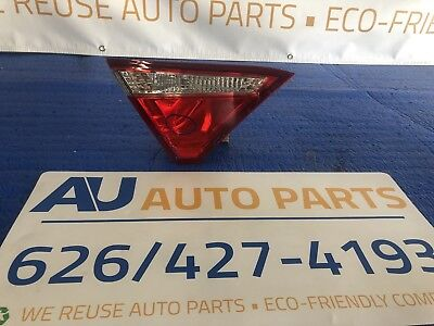 Toyota Camry OEM Left Trunk Tail Light 2015 2016 2017 15 16 17 Inner Driver Lid