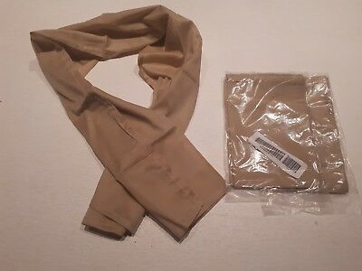 NEW British Army (Military) Issue: 2x Sand Sweat Rag / Face Mask / Neck Scarf