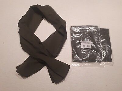 NEW: British Army (Military) Issue: 2x Olive Sweat Rag / Face Mask / Neck Scarf