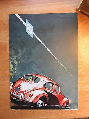 1958 Volkswagen Beetle  Brochure  ( London dealership )