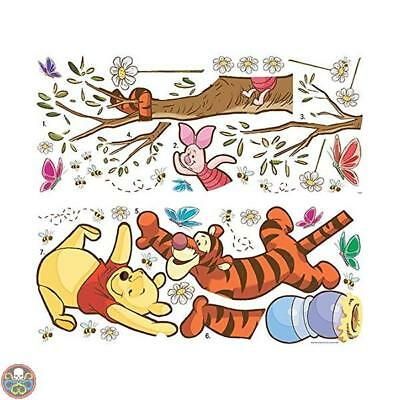 Roommates Rmk2463Gm Winnie The Pooh Swinging For Honey Autocolante Da Nuovo