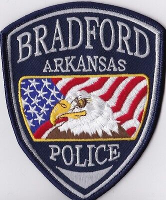 Bradford Police Patch Arkansas AR