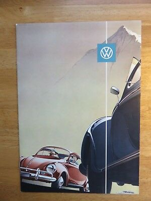1960 Volkswagen Beetle  Brochure  ( Monarch Motors Miami Florida dealership )