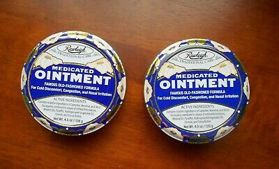 Rawleigh  Medicated Ointment  (Set of 2)  5 oz. each