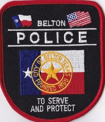 COLLECTIBLE WILMER TEXAS POLICE APPLIQUE PATCH