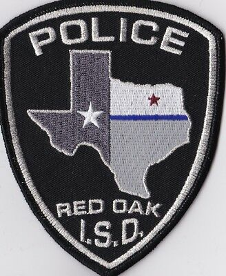 Red Oak I.S.D. Police Patch Texas TX