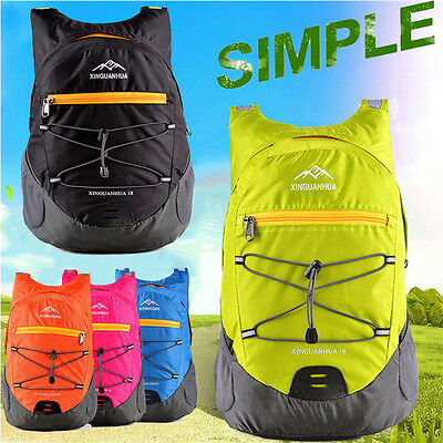 Lightweight Foldable Waterproof Travel Backpack Hiking Bag Camping Shoulder Bags