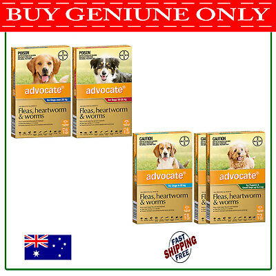 Advocate For Dogs - Puppy, Small, Medium, Large - 3/6/9 Pack - ALL SIZES