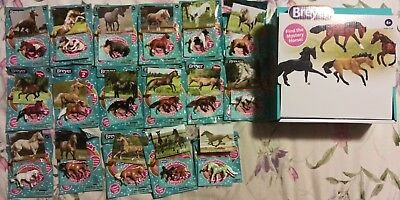 Breyer Mini Whinnies Surprise Series 2 Complete Set of18 Including Emerald Chase