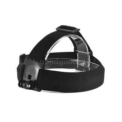 Adjustable Anti-Slip Action Camera Head Strap Headband Mount f. GoPro hero SJCAM