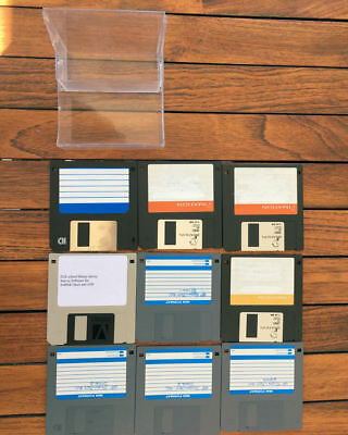 "9 x 3.5"" HD IBM Format Disks; Used; Formatted; Working 100%; Various Brands"