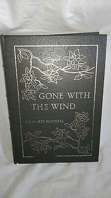 Gone With The Wind Margaret Mitchell Collectors Edition Book Genuine Leather