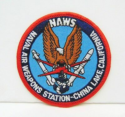 US Navy Cap Patch Naval Air Weapons Station Point Mugu California