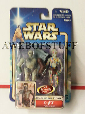 Star Wars AOTC C-3PO (Protocol Droid) 2002 Action Figure