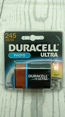 2CR5 Duracell Ultra 245 Photo Lithium Battery Expired 2014