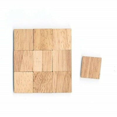 Wooden Scrabble Blank Tiles for Arts & Craft Painting Games Scrapbook Wall Frame