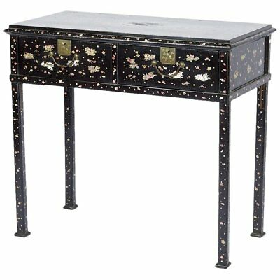 19th Century Japanese Mother-of-Pearl Inlaid Table