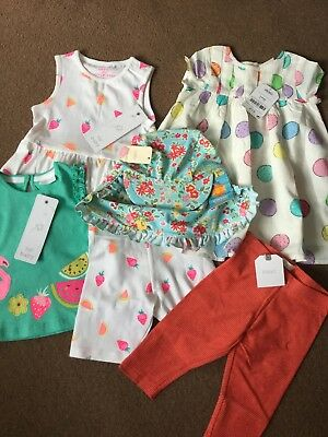 Next Girls Christmas Bundle Brand New With Tags Newborn 0-3 Months Rrp £60