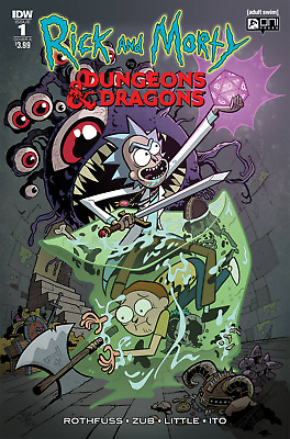 Rick And Morty Vs Dungeons & Dragons #1 Cvr A