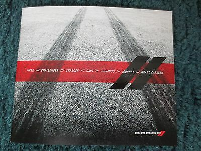 2016 Dodge Hellcat Srt Viper Charger Challenger Brochure Full Line New And Cool