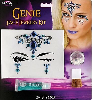 Jewelry Stones Makeup Kit Genie Scary Y Costume Party