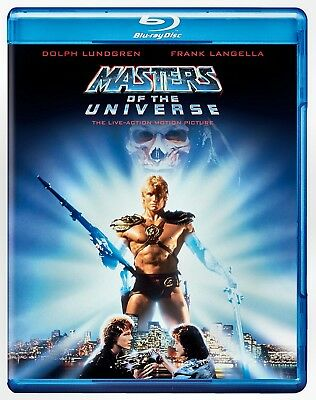 NEW BLU RAY - MASTERS OF THE UNIVERSE - Dolph Lundgren, Frank Langella, Meg Fost