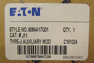 Eaton Cutler Hammer J11 9084A17G01 2NO 2NC Auxiliary contact block NEW