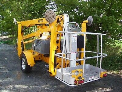 2015 Haulotte 4527A Towable Boom Lift Manlift 51'  Height Low Run Hours 232.9