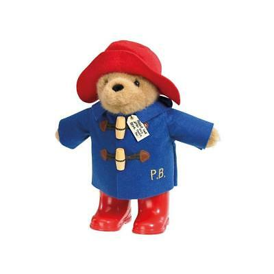 """Paddington Bear Classic with Boots Plush Soft Toy, Traditional 9.5"""" (24cm)"""
