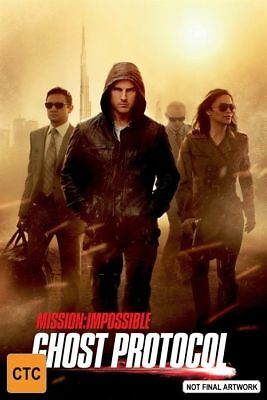 Mission Impossible 4 - Ghost Protocol DVD R4 New & Sealed