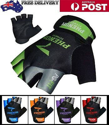 Weight Lifting Gloves Gym Leather Training Crossfit Exercise Bodybuilding Gloves