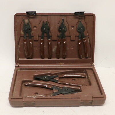 Paramount 6 Piece Combination Internal/External Snap Ring Pliers Set