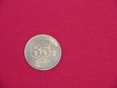 Vintage 1964 Continental Bakery Advertisement 65Cent Gold Piece Coin WonderBread
