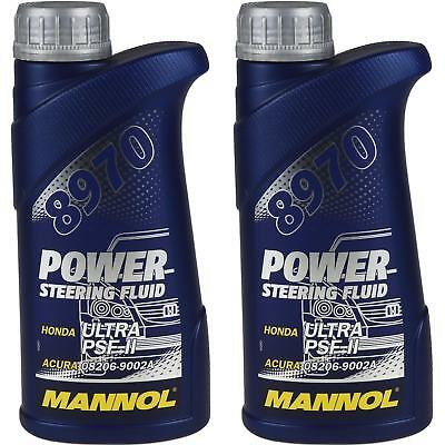 2x500 ml Original MANNOL 8970 Power Steering Fluid Hydraulikflüssigkeit Servoöl