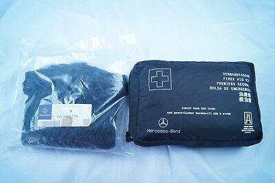 Sealed Mercedes Luggage Net And Unused Mercedes First Aid Kit Bag 2021