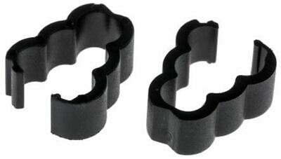 RS Pro Cable Clamp Black Nylon C Clamp, 4.1mm Max. Bundle