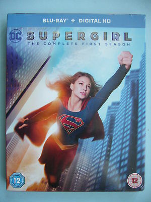 Supergirl: The Complete First Season Blu-ray Box Set New Sealed