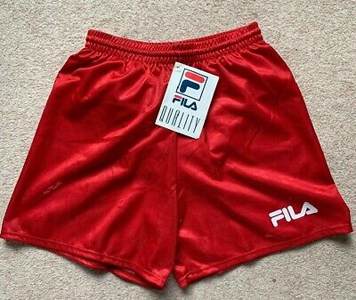 Boys Fila Football Short Size XL Brand New Red #W612