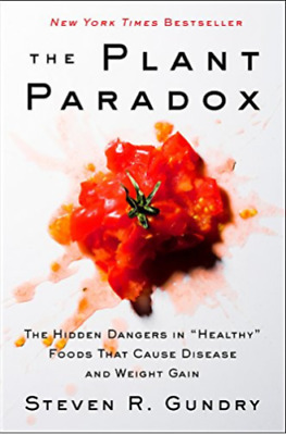 The Plant Paradox  by Steven R. Gundry (2018, eBooks)