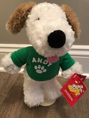 "10"" Peanuts Andy Snoopy Brother Plush Toy W/Tags Daisy Hill Puppies RARE"