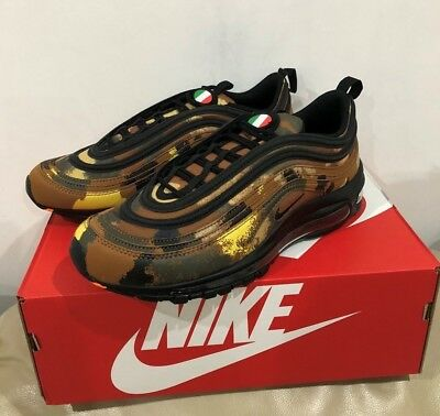 NIKE AIR MAX 97 Premium Qs Country Camo Italy (Aj2614 202) Men Size ... 245b0aac4