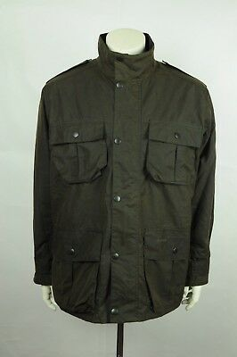 Barbour Trooper waxed jacket L OLIVE
