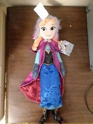 New with Tags Disney Frozen Plush Anna Doll