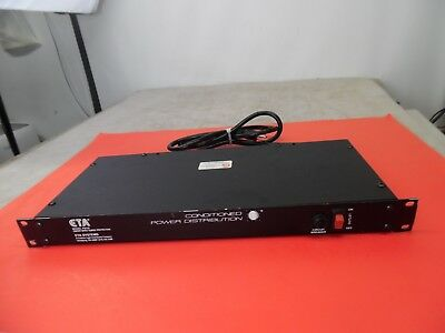 Eta Pd10 Rack Mount Conditioned Power Distribution Unit