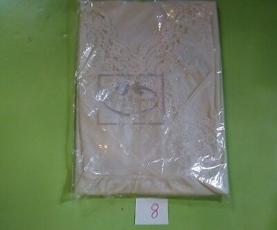 NOS. Embroidered nightgown  private Treasures by AVON Ivory size medium