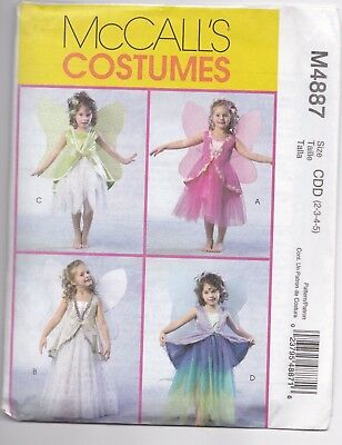 Girls Fairy  dance/costume pattern size 2-3-4-5
